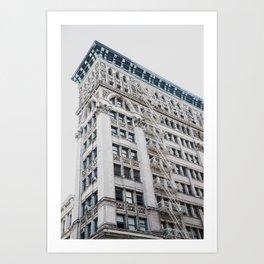NY Architecture Art Print