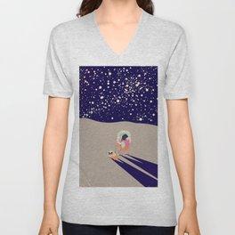 Moonwalker Unisex V-Neck