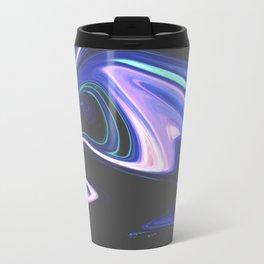 Tell Me - Marbling Pattern Travel Mug