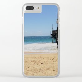 Summer Daze Clear iPhone Case