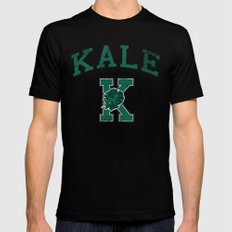 University of Kale MEDIUM Black Mens Fitted Tee