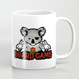 koala playing dice Coffee Mug