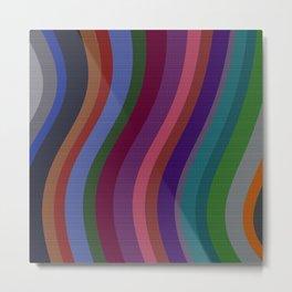 Color Bars Metal Print