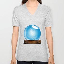 Crystal Gazing Unisex V-Neck