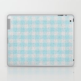 Light Grey Buffalo Plaid Laptop & iPad Skin