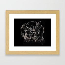 Legendary Influence Framed Art Print