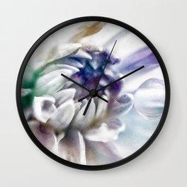 watercolor flower 2 Wall Clock