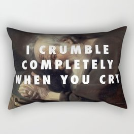 Crying Heraclitus Rectangular Pillow