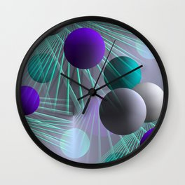 funny balls -03- Wall Clock