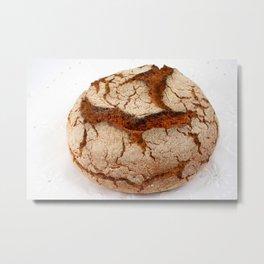 Portuguese corn bread Metal Print