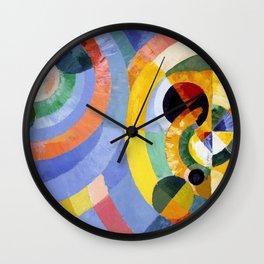 Robert Delaunay - Circular Forms - Digital Remastered Edition Wall Clock