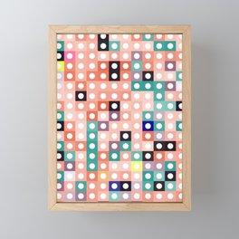 square dance Framed Mini Art Print