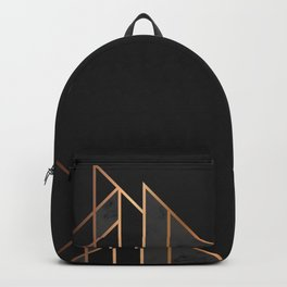 Black & Gold 035 Backpack