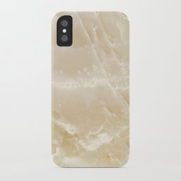White Onyx iPhone Case