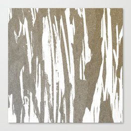Abstract Taupe Splash Design Canvas Print