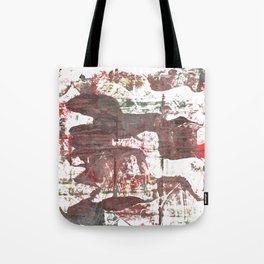 Deep Taupe abstract watercolor Tote Bag