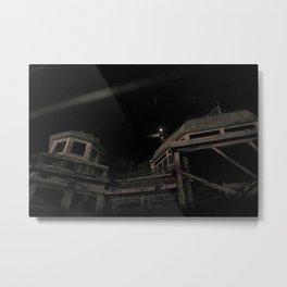 Abandoned Atrium Metal Print