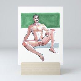 JOSH, Nude Maleby Frank-Joseph Mini Art Print