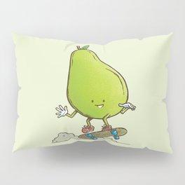 The Pear Skater Pillow Sham