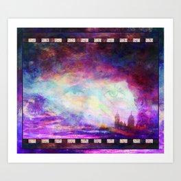 INSPIRING PARIS    Sacre Coeur Art Print