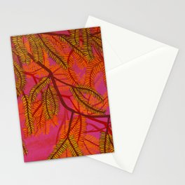 Mesquite Tree Branch at Sunset Stationery Cards