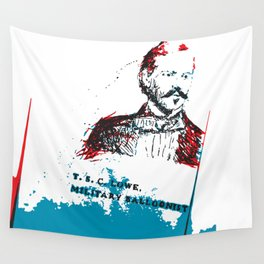 T. S. C. Lowe - Military Baloonist Wall Tapestry
