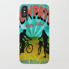Canal Fulton Massillon Navarre Towpath Bicycle Adventure iPhone X Slim Case