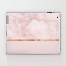 Silvec rosa on rose gold blush Laptop & iPad Skin
