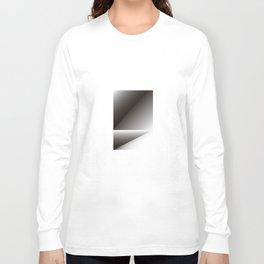 black color energy fold Long Sleeve T-shirt