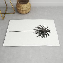 Watercolor Palm Tree Rug