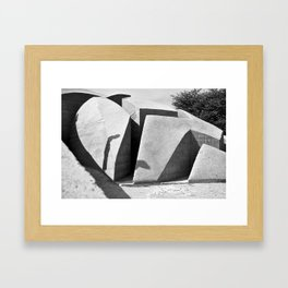 Solid and Void #2 Framed Art Print