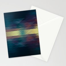 Triangles III Stationery Cards