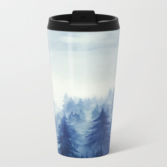 Into The Forest II Metal Travel Mug