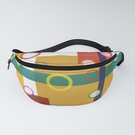 Crazy Geometry Fanny Pack
