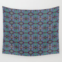 Overshot Pattern Wall Tapestry