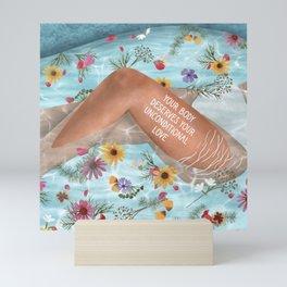 Love Your Body Mini Art Print