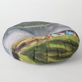 Lake Quinault Floor Pillow