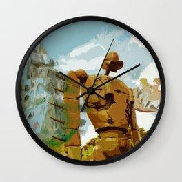 Castle in the Sky * El Castillo en el cielo * Ghibli Inspiration Wall Clock