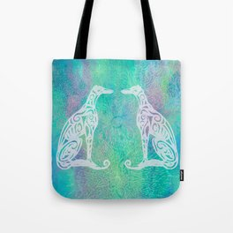 A Greyhound for All Seasons - Winter Tote Bag
