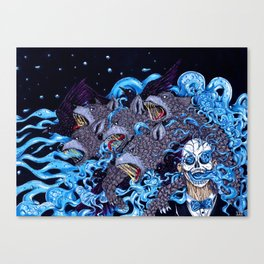 The Cleansing Canvas Print