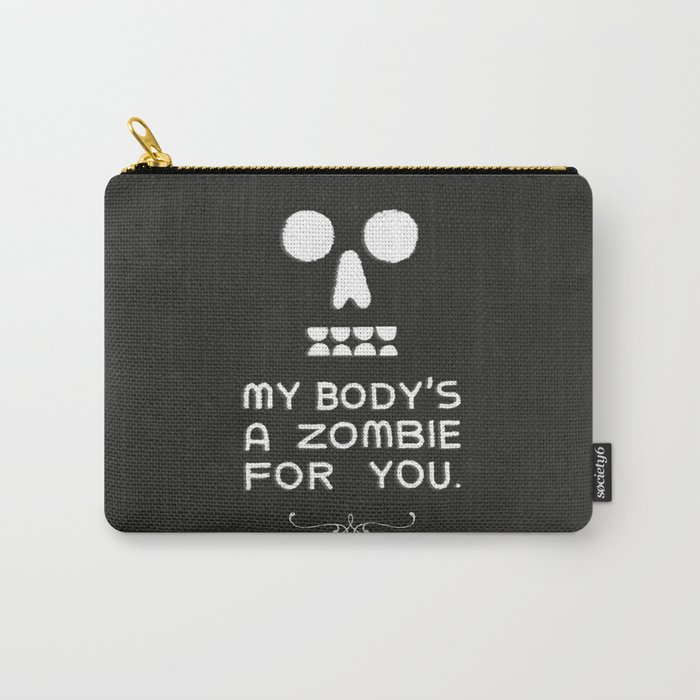 Zombie Love Carry-All Pouch