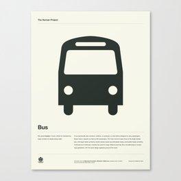 Bus Canvas Print
