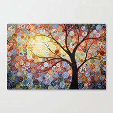 Celestial Sunset Canvas Print