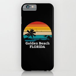 Golden Beach FLORIDA iPhone Case