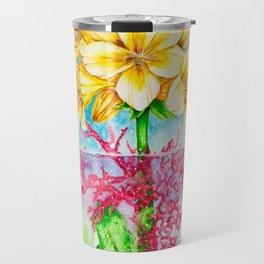 The Flower Travel Mug