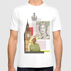 Great Britain Mens Fitted Tee MEDIUM White