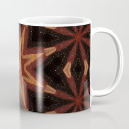 Sparklers // Geometric Abstract Visionary Art Celebration Energy Black Red Vibrant Bohemian Gypsy Coffee Mug