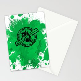 Chaotic Good RPG Game Alignment Stationery Cards