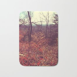Glow in the forest Bath Mat