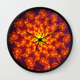 Fractal, Pattern, art,wall,interior,design,abstract,graphic,digital,color,beauty,fractal,painting Wall Clock